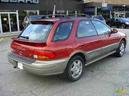 subaru station wagon 2000 car picker red subaru impreza outback sport