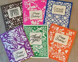 make your own cards etsy