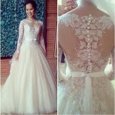 wedding dress pattern aliexpress buy vestido de noiva princesa beaded sleeve