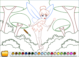 fairy coloring online education game crazygamessudio 488061