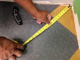 installing vinyl floor tile wood or other floor