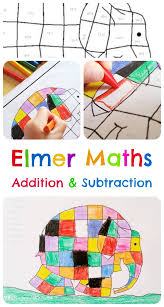 elmer the elephant maths activities free downloadable theboyandme