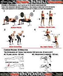 Bench Workout Routine Workout Routines Health And Fitness Training