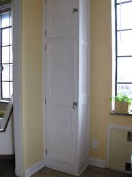 small broom closet modified our pretty display cabinets for a