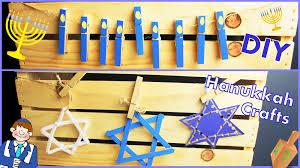 kids menorah diy hanukkah crafts for kids adults of david menorah