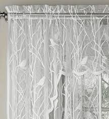 Lorraine Curtains Lace Curtains Songbird Lace Curtain Panel By Lorraine Home
