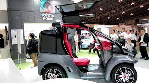 toyota home ceatec2012 toyota smart insect 超小型ev youtube