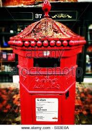 post box in kent uk stock photo royalty free image