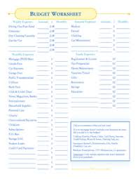 how to budget when you are behind on bills budget worksheets