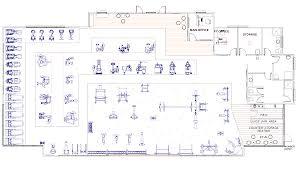 fitness center floor plan layout fitness center floor plans