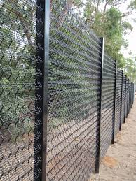 1 8m high anti climbing nylofor wire mesh fence in home anping
