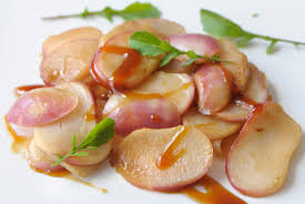 cuisiner navets nouveaux navets au cidre et sauce yakitori cuisine à l ouest