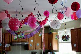 home party decoration birthday party decoration ideas at home bday simple decorating of