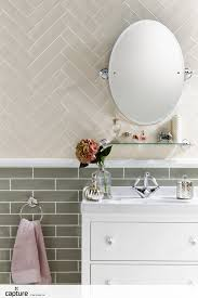 Vintage Bathroom Tile by Tile Inspiration For The Bathroom Soft Cream Tiles Laid In A