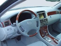 lexus ls 430 2005 lexus ls430 cockpit interior photo automotive com