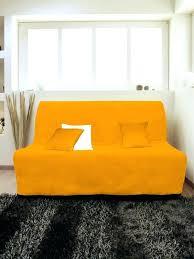 canap bz 160 canape bz 160 200 housse pour canap adaptable couleur orange pas