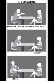 Geek Speed Dating Meme - well that was easy to determine amanda palmer dating humor and