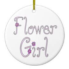flower girl christmas ornament flower girl ornaments keepsake ornaments zazzle
