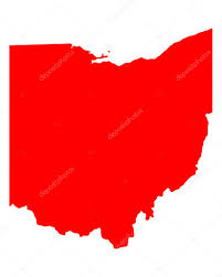 Map Of Ohio by Map Of Ohio U2014 Stock Vector Rbiedermann 30437511