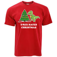 t rex hates tree sad gift decoration present gift mens t