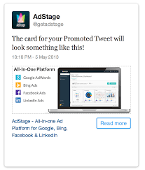 how to create website cards for ads the adstage