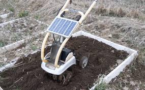diy solar build a diy solar powered backyard tiller treehugger