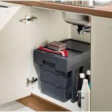 kitchen cabinet waste bins multi container waste boy pull out kitchen cabinet cupboard bin 32l