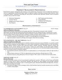property management resume real estate property management resume sle professional