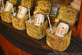 black and gold party decorations black and gold sparkle party ideas and spritzers