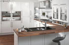 contemporary style kitchen cabinets dark brown wooden round stool