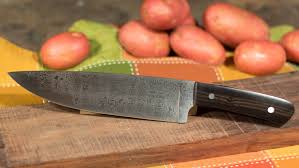 Knives For Kitchen Use Making A Damascus Steel Chef U0027s Knife Youtube