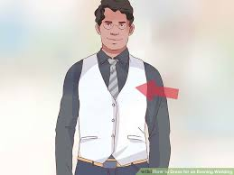 Dress And Jacket For Wedding 5 Ways To Dress For An Evening Wedding Wikihow