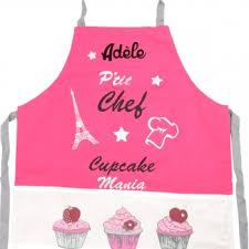 tablier cuisine fille découvrez ce tablier de cuisine enfant personnalisé cupcake