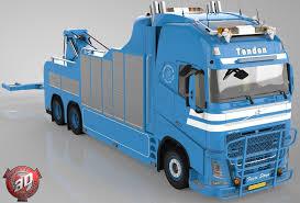 volvo truck models 3d volvo fh13 wrecker model cgtrader