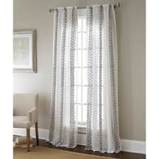 Sheer Metallic Curtains Buy Sheer Curtains From Bed Bath Beyond