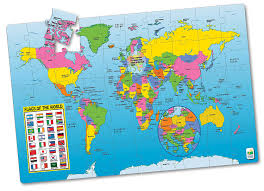 Map Of The World Poster by Amazon Com The Learning Journey Jumbo Floor Puzzles Map Of The