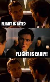 flight is late inception meme on memegen