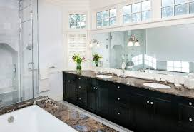 bathroom wonderful design ideas with glass block windows for full size of bathroom decoration ideas captivating decorating using rectangular mirrors and oval white sinks