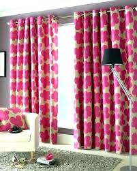 Pink Gingham Curtains Pink Gingham Blackout Curtains And Black Velvet Bright Best