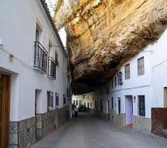 sustaining home designs unique setenil city under rock with