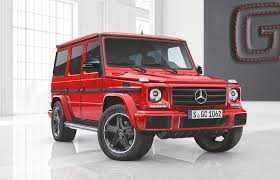 mercedes g wagon red interior 2017 mercedes benz g63 and g65 exclusive edition make their debut