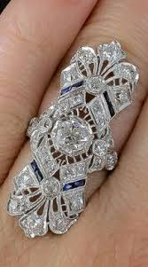 a spectacular antique art deco dinner ring at lang antiques