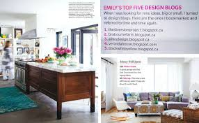 House And Home Magazine by Black White Yellow The Home Of Emily Norris From House And