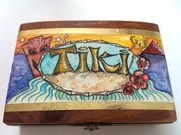 it s tiki time tiki themed hand painted decor retro inspired tiki tiki decor hawaii hawaiiana beach decor tiki god retro
