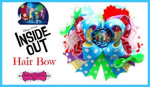 hair bow supplies diy disney s inside out hair bow hairbow supplies etc