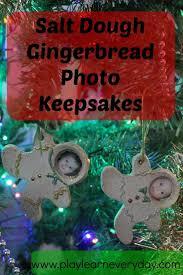 salt dough gingerbread photo keepsakes salt dough gingerbread