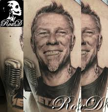 james hetfield tattoo portrait cristattoo83