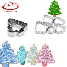 new year cookie cutters starlinkstar 5pc set tree cookie cutter diy new year decorations