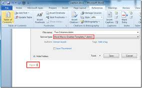 insert captions u0026 cross references in word 2010
