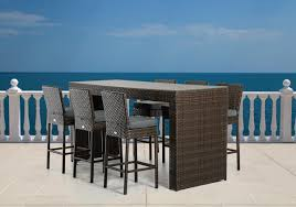 Patio Bar Height Table And Chairs by Awesome Outdoor Bar Table And Chairs U2014 Jbeedesigns Outdoor
